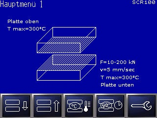 P200T Bildschirmansicht