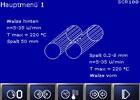 Bildschirmsteuerung Polycontrol ermöglicht eine sehr übersichtliche und leichte Bedienung verschiedener Maschinenfunktionen.
