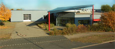 Unser SERVITEC-Gebäude in Wustermark